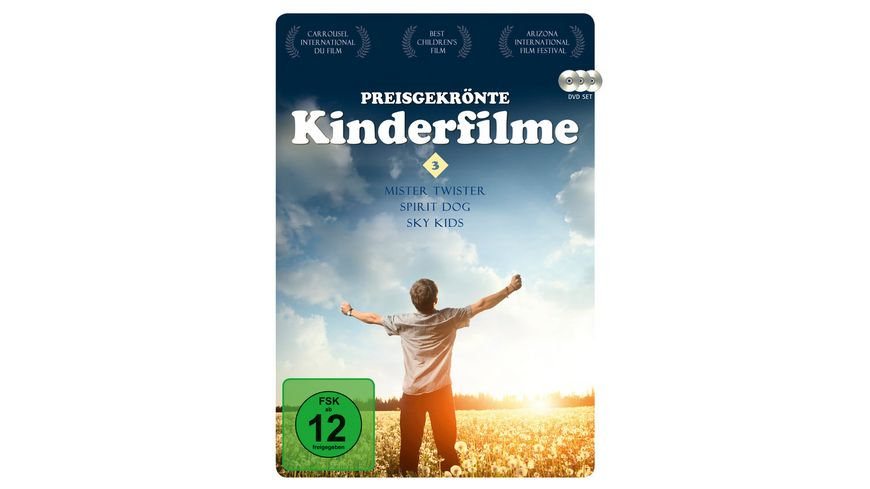 Preisgekroente Kinderfilme 3 3 DVDs