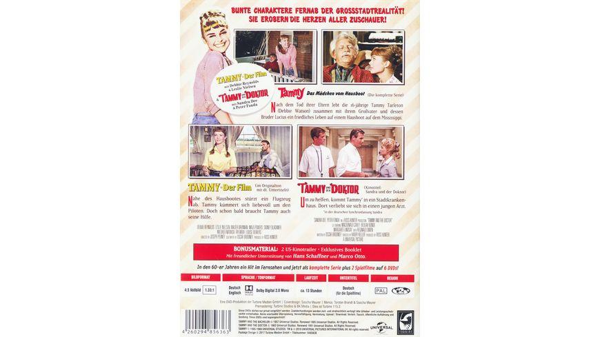 Die Tammy Collection Die komplette Serie 2 Spielfilme 6 DVDs