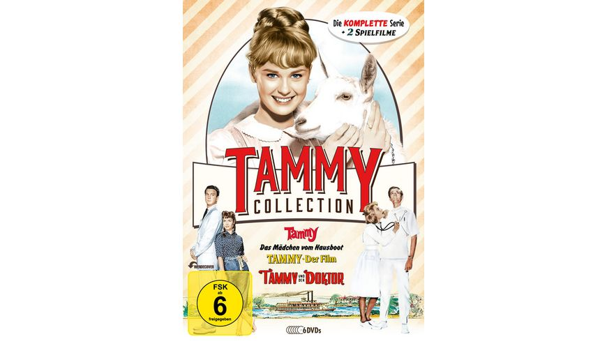 Die Tammy Collection Die komplette Serie 2 Spielfilme 6 DVDs