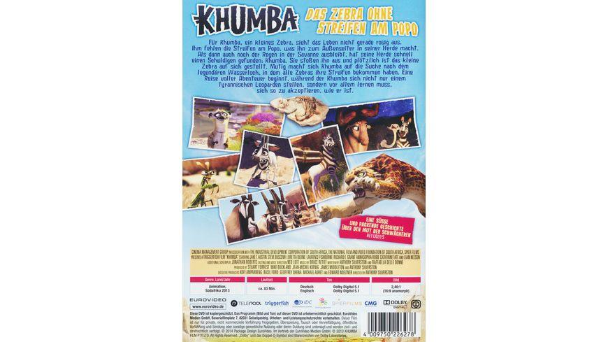 Khumba Das Zebra ohne Streifen am Popo