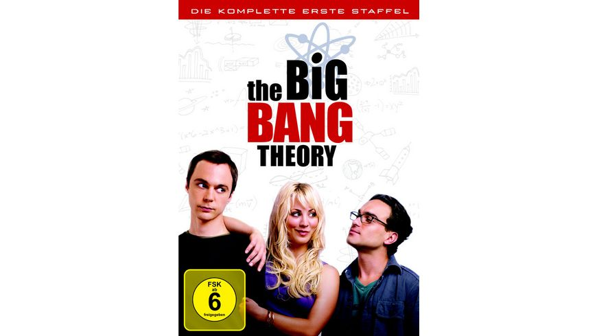 The Big Bang Theory Staffel 1 3 DVDs