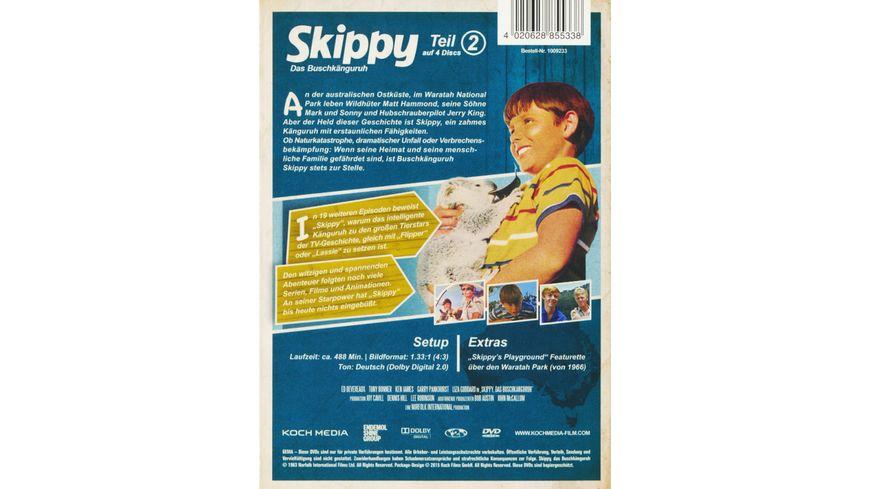 Skippy Das Buschkaenguruh Teil 2 4 DVDs
