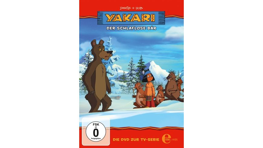 Yakari Folge 22 Der schlaflose Baer