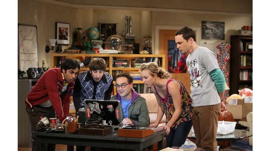 The Big Bang Theory Staffel 2 4 DVDs