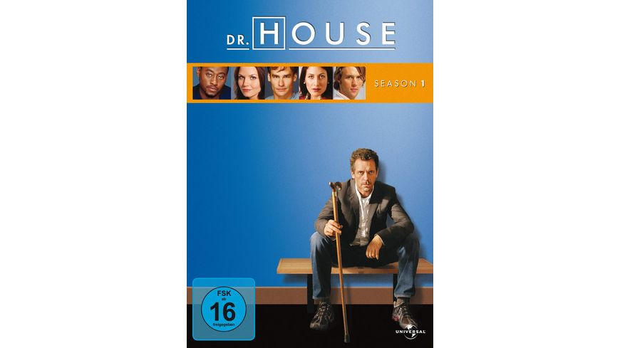 Dr House Season 1 6 DVDs