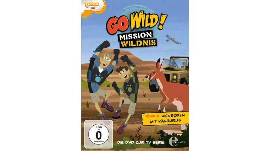 Go Wild Mission Wildnis Folge 6 Kickboxen mit Kaengurus