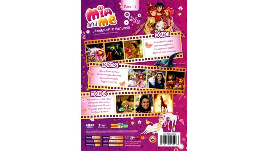 Mia and Me Box 1 1 Folgen 01 13 3 DVDs