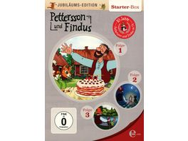 Pettersson und Findus Folge 1 3 Jubilaeums Edition Starter Box 3 DVDs