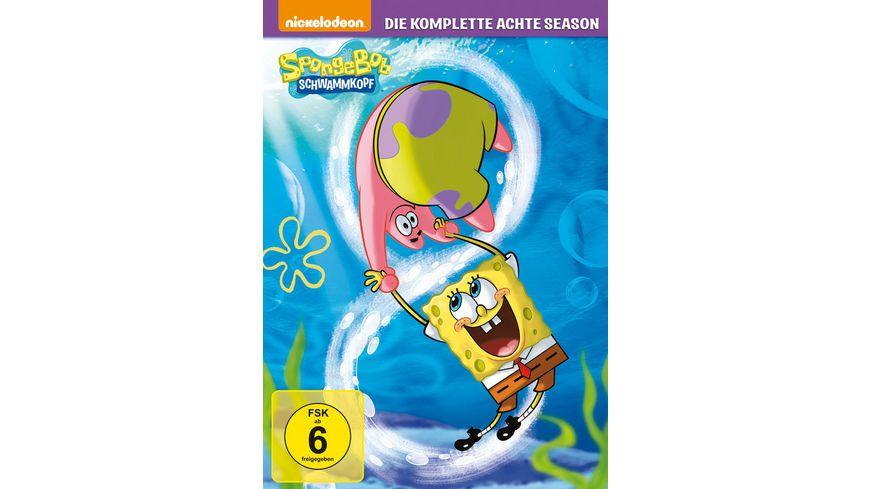 Spongebob Schwammkopf Season 8 4 DVDs