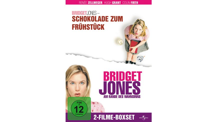 Bridget Jones Boxset 2 DVDs