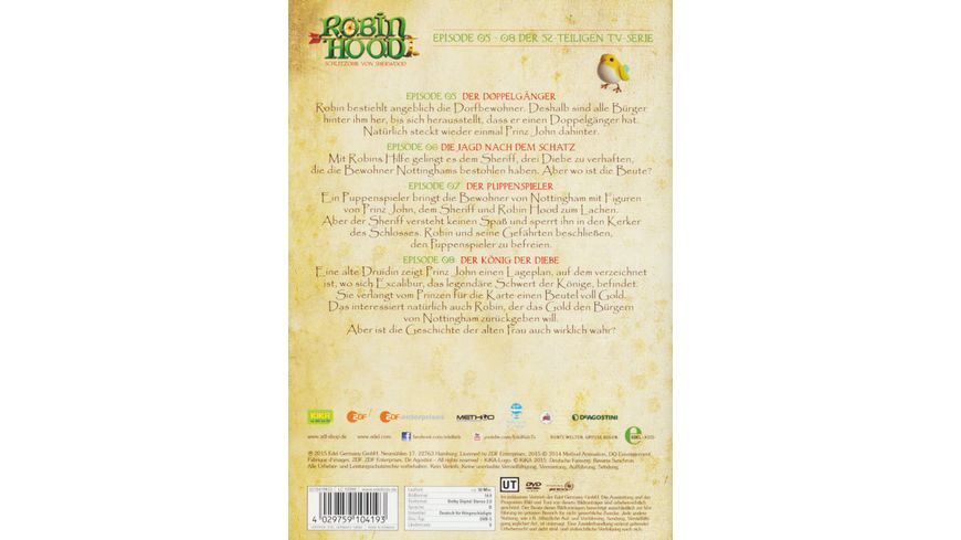 Robin Hood Schlitzohr von Sherwood Folge 2 Der Koenig der Diebe