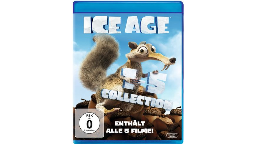Ice Age Box Set Teil 1 5 5 BRs