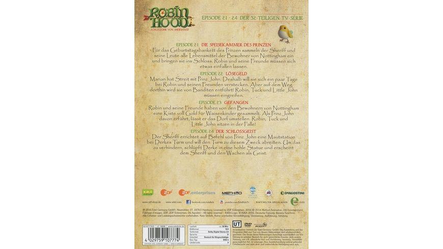 Robin Hood Schlitzohr von Sherwood Folge 6 Der Schlossgeist