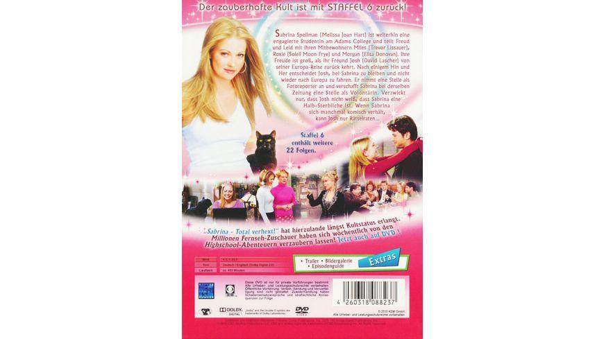 Sabrina Die komplette Staffel 6 4 DVDs
