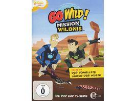 Go Wild Mission Wildnis Folge 19 Der schnellste Laeufer der Wueste