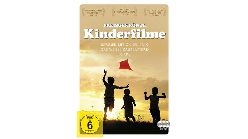 Preisgekroente Kinderfilme 3 DVDs
