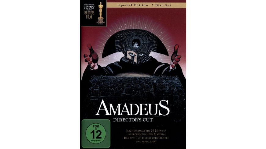 Amadeus DC 2 DVDs