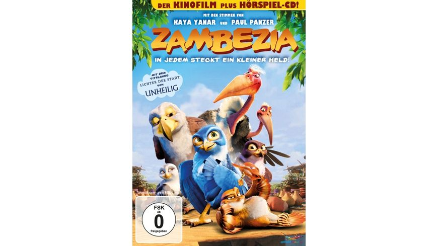 Zambezia In jedem steckt ein kleiner Held Hoerspiel CD