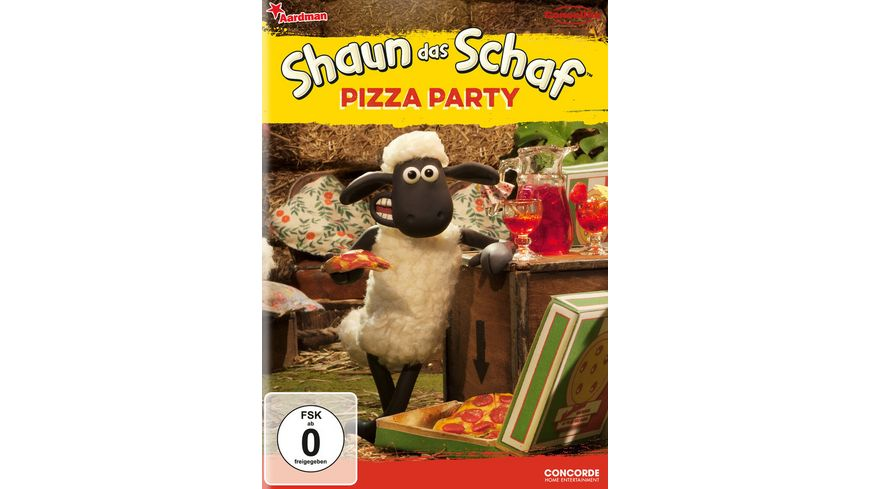 Shaun das Schaf Pizza Party