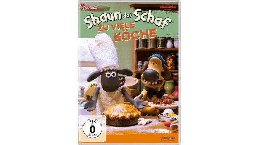 Shaun das Schaf Zu viele Koeche