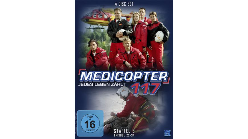 Medicopter 117 Staffel 3 4 DVDs