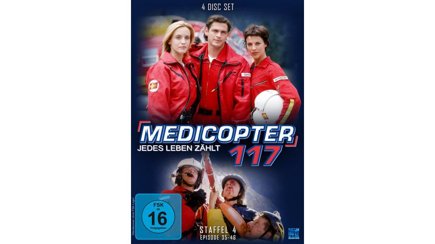 Medicopter 117 Staffel 4 4 DVDs