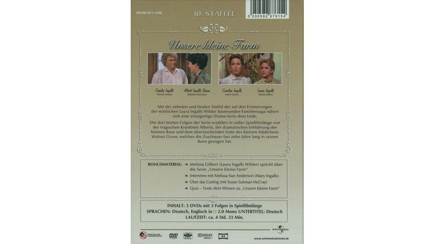 Unsere kleine Farm Staffel 10 3 DVDs