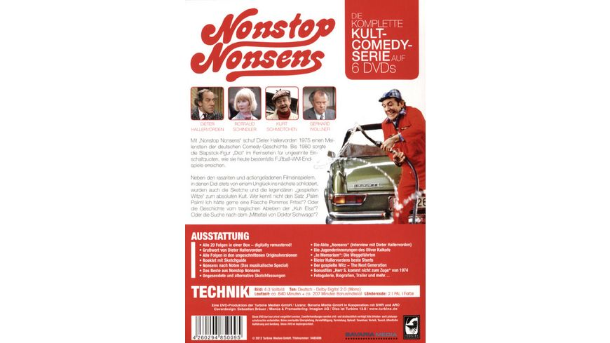 Nonstop Nonsens Die komplette Serie 6 DVDs