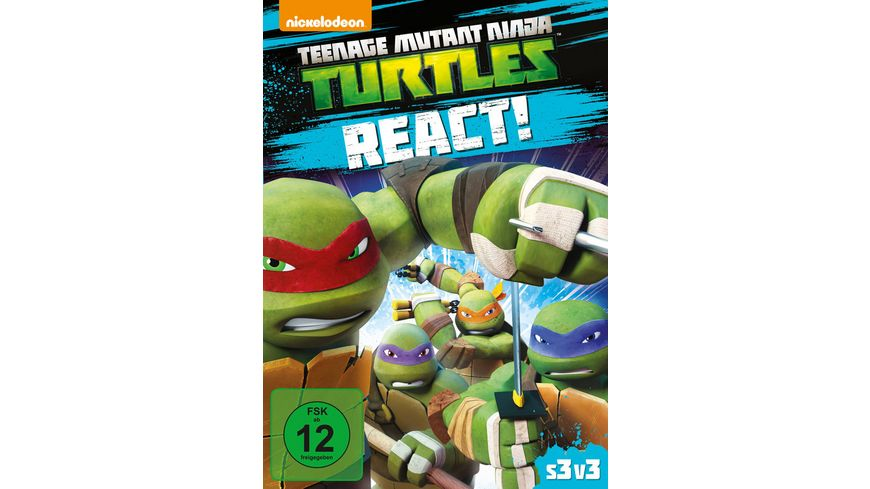 Teenage Mutant Ninja Turtles React
