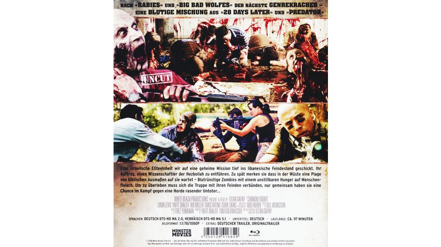Battle of the Undead Krieg der Untoten Uncut