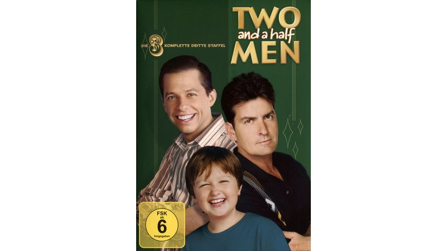 Two and a Half Men Mein cooler Onkel Charlie Staffel 3 4 DVDs