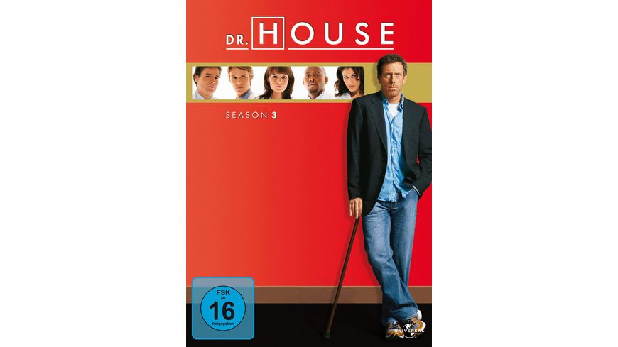 Dr House Season 3 6 DVDs