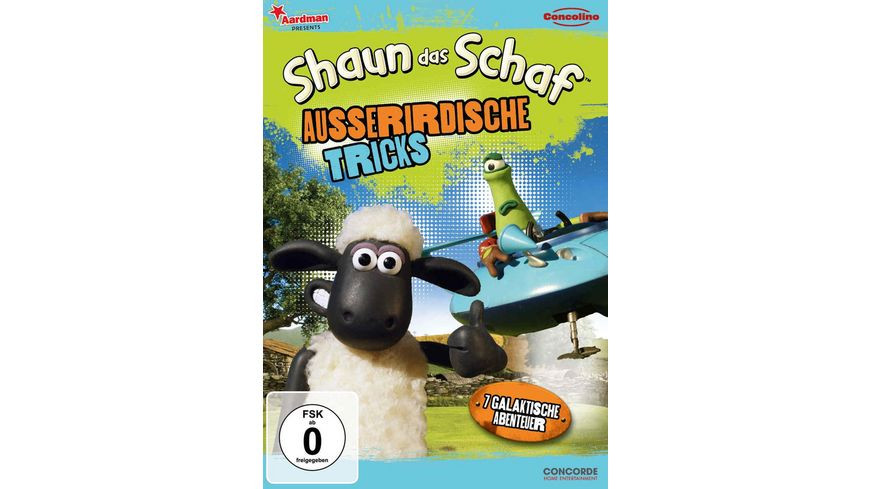 Shaun das Schaf Ausserirdische Tricks