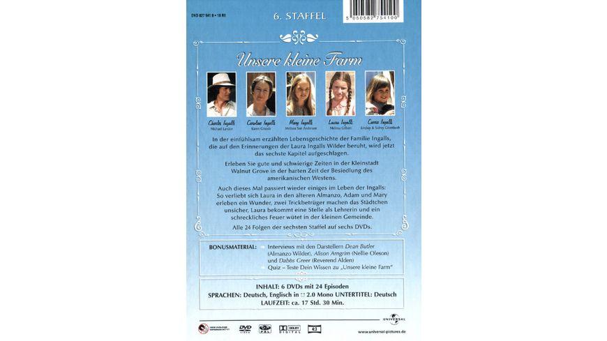 Unsere kleine Farm Staffel 6 6 DVDs