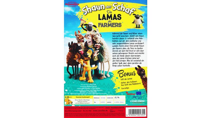 Shaun das Schaf Die Lamas des Farmers