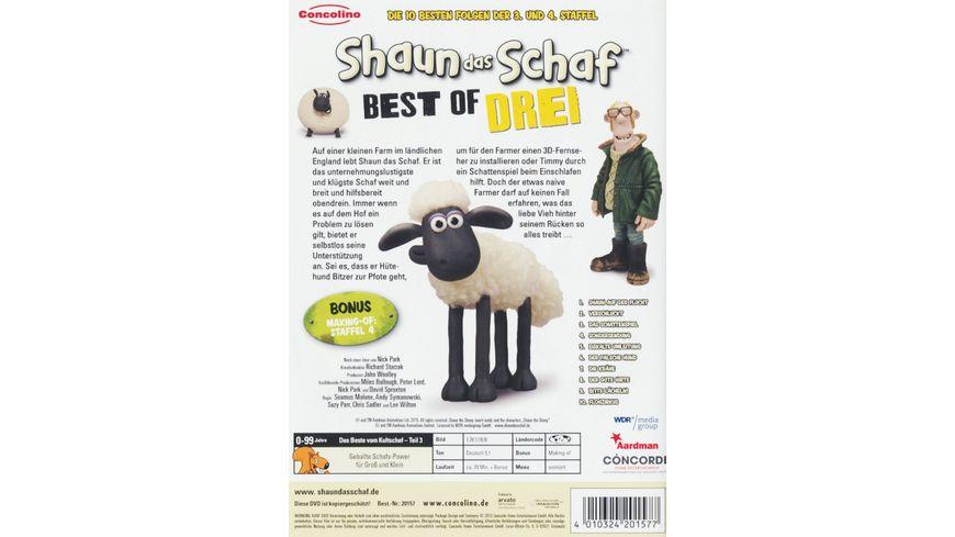 Shaun das Schaf Best of Drei