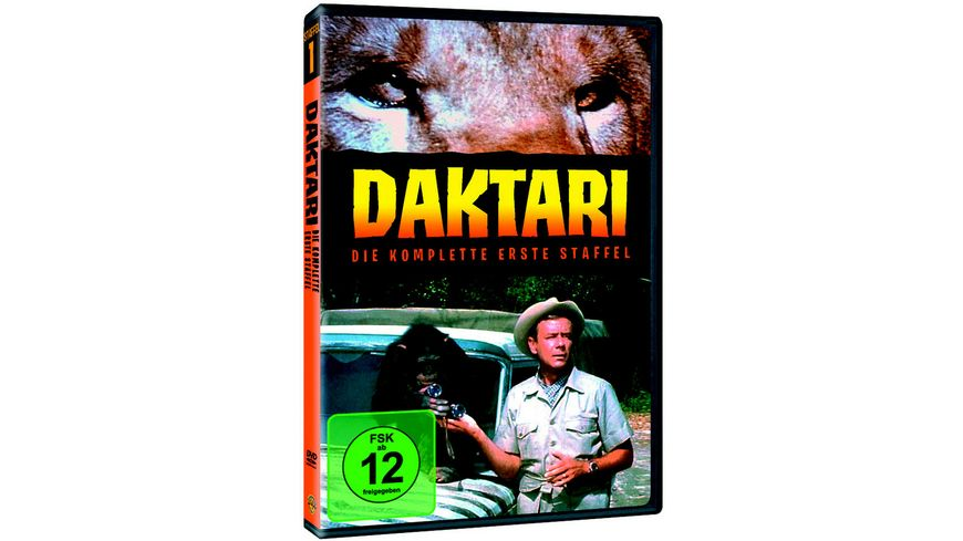 Daktari Staffel 1 4 DVDs
