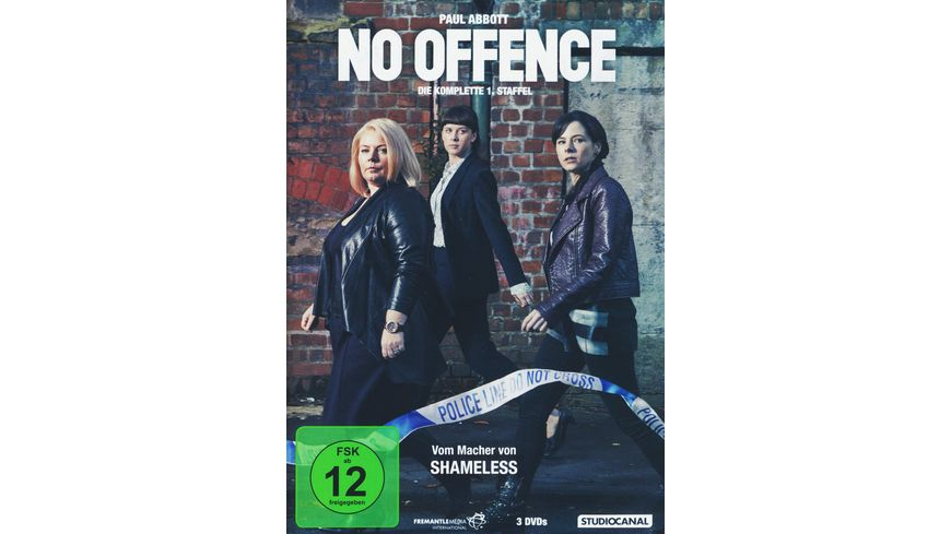 No Offence Staffel 1 3 DVDs