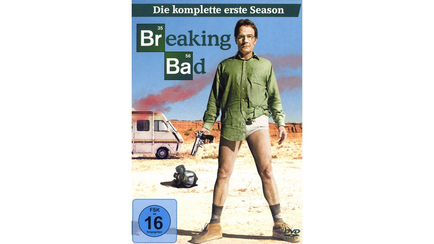 Breaking Bad Season 1 3 DVDs