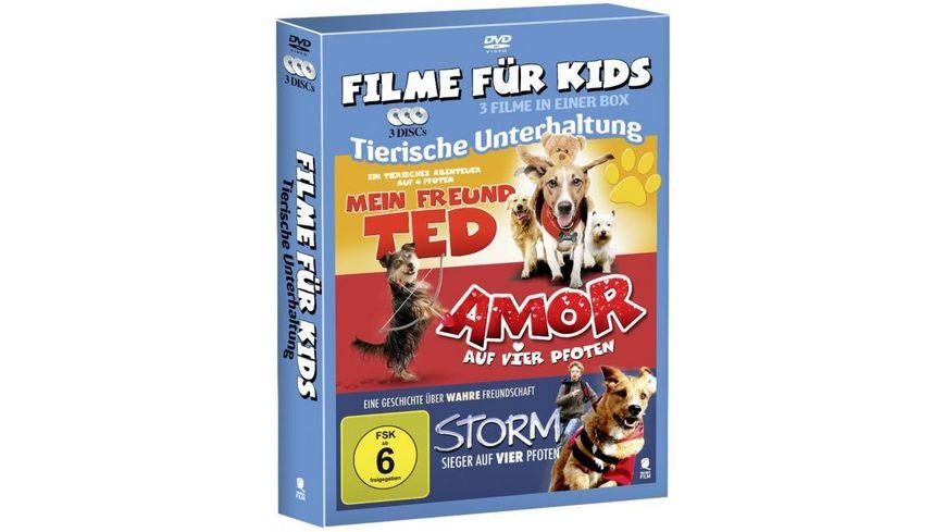 3 Movies Kids Collection Tierische Unterhaltung 3 DVDs