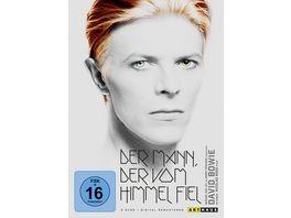 Der Mann der vom Himmel fiel Digital Remastered 2 DVDs