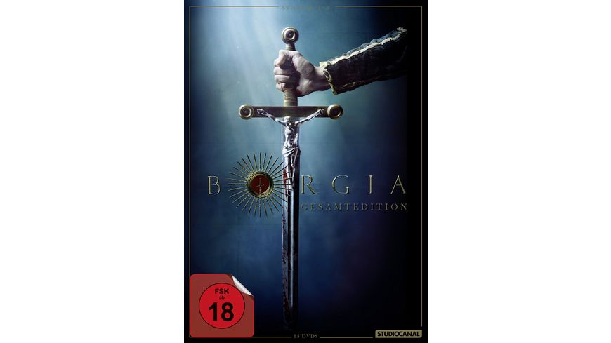 Borgia Gesamtedition 15 DVDs