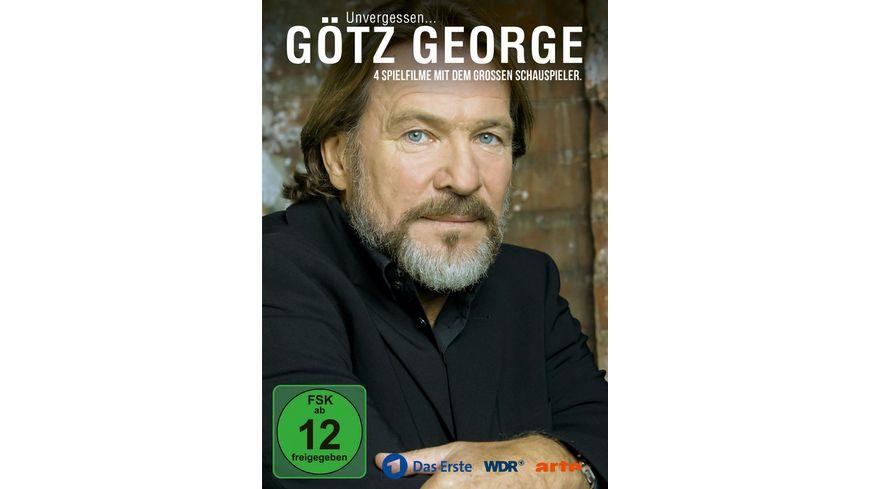Goetz George Unvergessen 4 Spielfilme mit dem grossen Schauspieler 4 DVDs