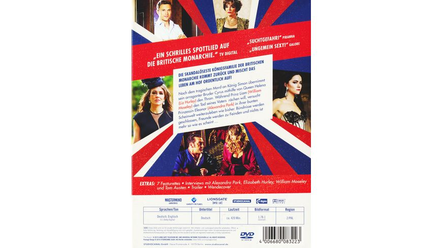 The Royals Staffel 2 3 DVDs