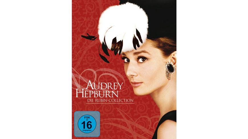 Audrey Hepburn Rubin Collection 5 DVDs