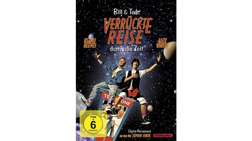Bill Ted s verrueckte Reise durch die Zeit Digital Remastered