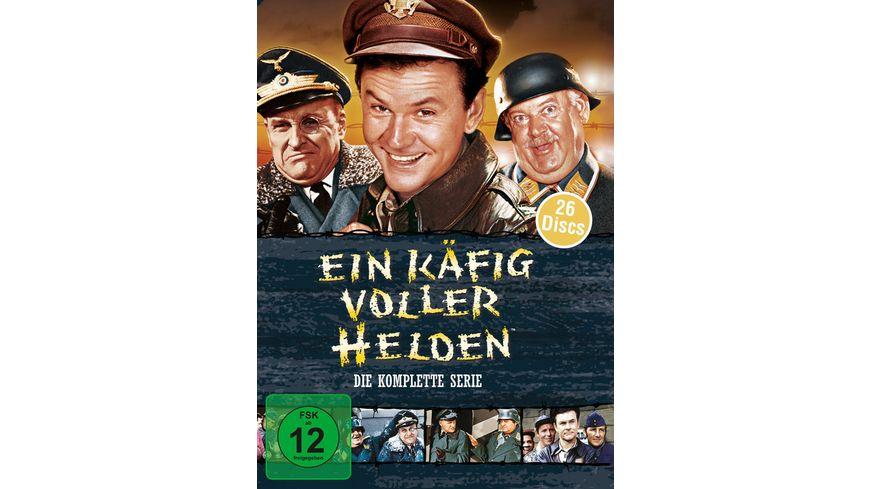 Ein Kaefig voller Helden Die komplette Serie 26 DVDs