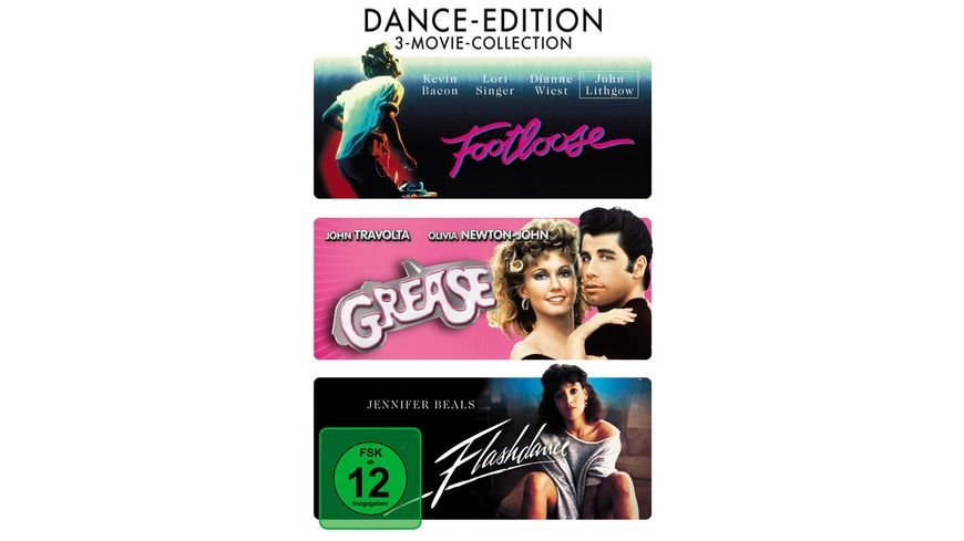 Dance Edition 3 DVDs