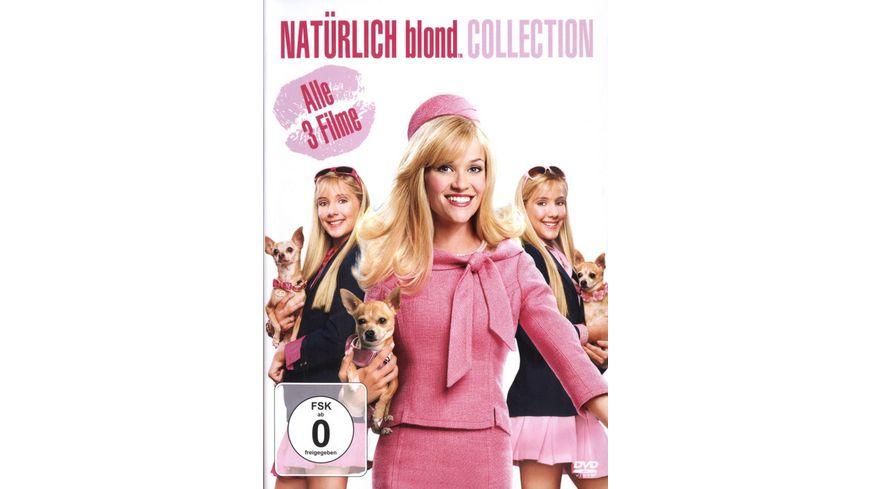 Natuerlich blond Teil 1 3 3 DVDs