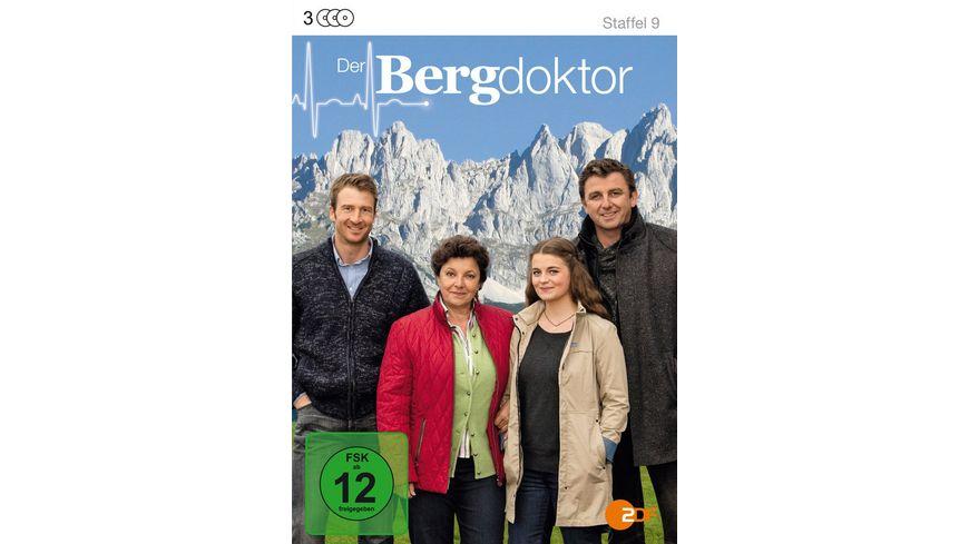 Der Bergdoktor Staffel 9 3 DVDs
